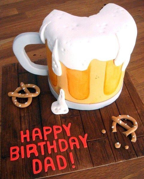 Birthday Cake Decorating Ideas For Dad  humor  Pinterest