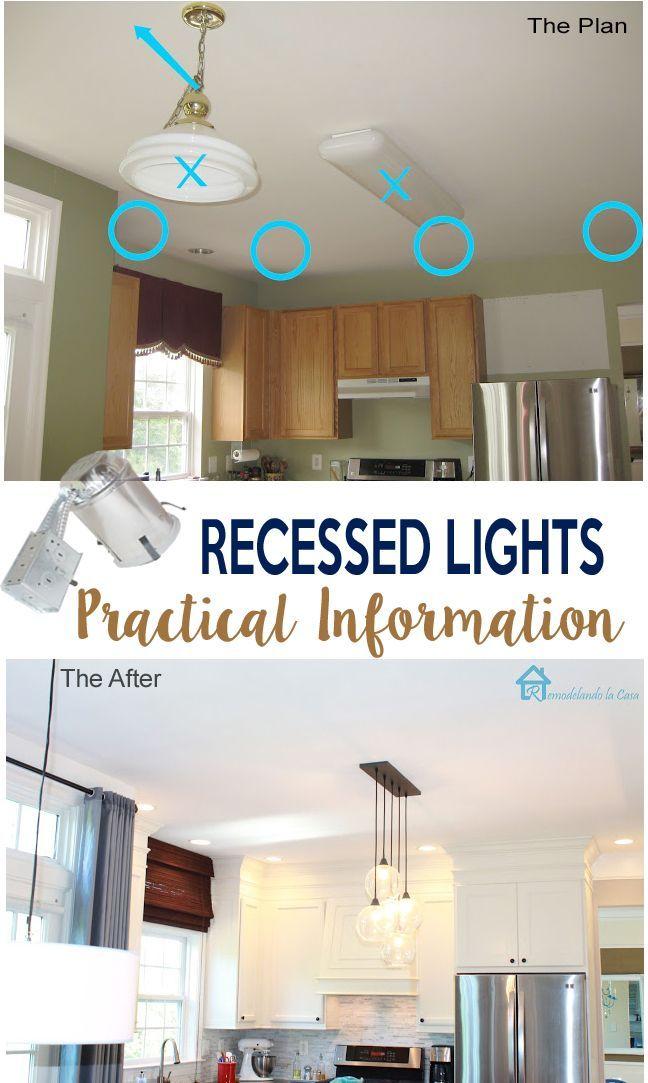 Thinking About Installing Recessed Lights Remodelando La Casa