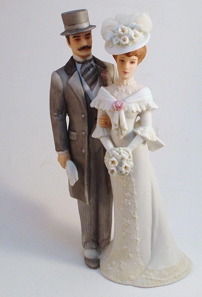 Bone China Wedding Cake Toppers