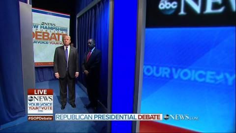 Lots of good Social Referencing and Social Norms examples from this video: watch 2016 Republican nominees try to cope when their entrance to a debate gets disorganized.