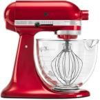 KitchenAid Artisan Designer 5 Qt. Candy Apple Red Stand Mixer KSM155GBCA at The Home Depot - Mobile