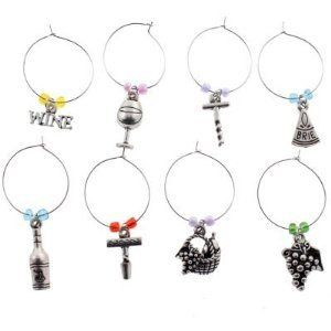 Wine Glass Charms Party Theme
