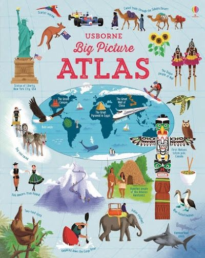 Végre egy világatlasz, melyben szabadon barangolhattok.  Ez az óriási könyv (29 x 24 cm) minden kontinensnek bemutatja a jellegzetességeit, érintve az élővilágot, híres városokat, 15 gyönyörű térkép segítségével.  Óceánok, hegyek, völgyek, érdekes tények és zászlógyűjtemény a könyv végén!