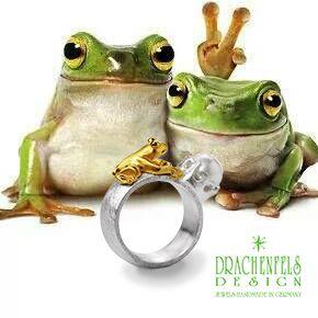 Kollektion FROSCHKÖNIG von Drachenfels Design. www.drachenfels-design.de king frog by Drachenfels