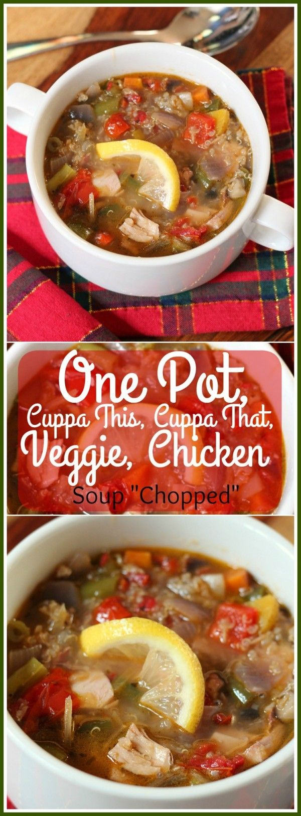 When the weather outside is frightful...Make soup! On Pot, Cuppa this, Cuppe that, Veggie, Chicken Soup Chopped The Kitchen Chopper