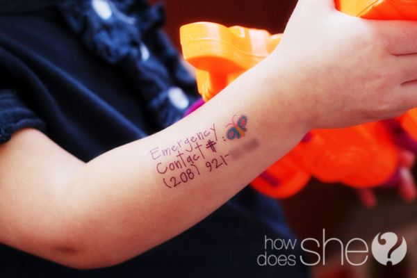 Make your own tattoos using temporary tattoo paper and a Cricut.  Cute ideas for using tattoos at birthday parties and other stuff...