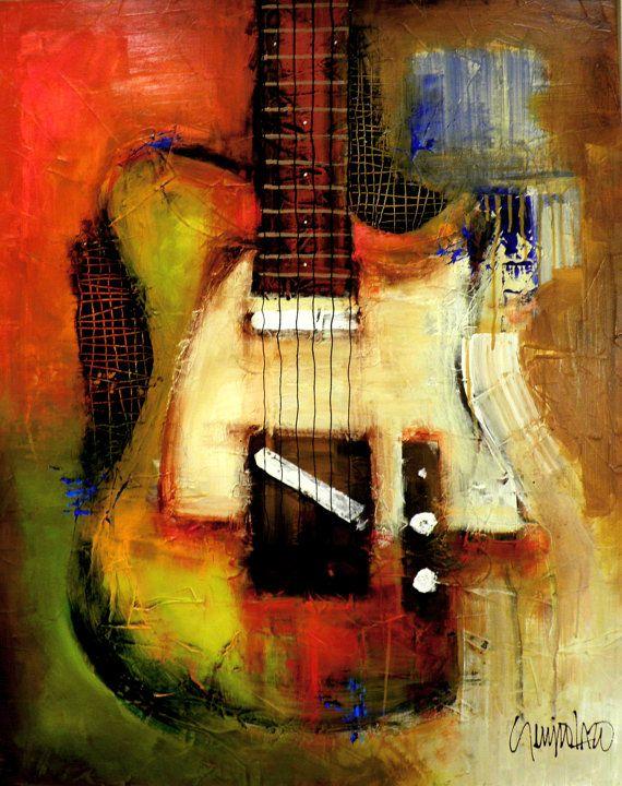 279 best ART - INSTRUMENTS images on Pinterest | Guitar art, Music ...