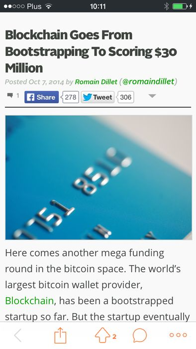 #coinside #bitcoin #news #blog #iOS #application