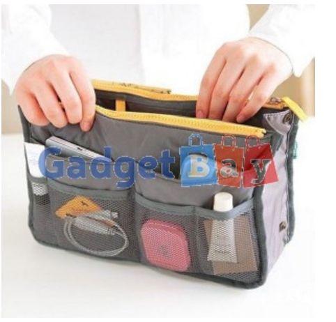 Women Travel Insert Handbag Organiser Purse Large Liner Organizer Tidy Bag Buy it on www.gadget-bay.com Free Shipping Europe wide