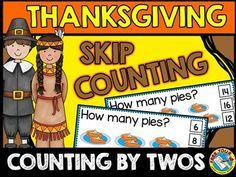 #THANKSGIVING #MATH: #SKIP #COUNTING