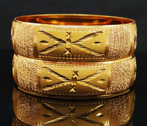 Indian Kada Bangles - Ethnic Women Bracelets