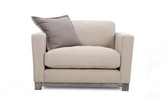 Cuddler Sofa New Chalk