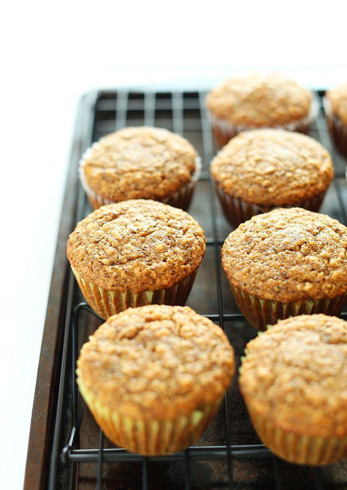 Vegan Meyer Lemon Muffins! Just 1 bowl required