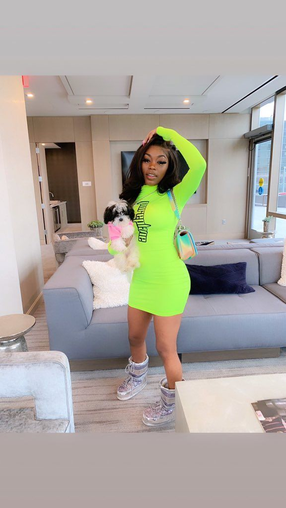 Asian Da Brat On In 2019 Braids Outfits Neon Outfits