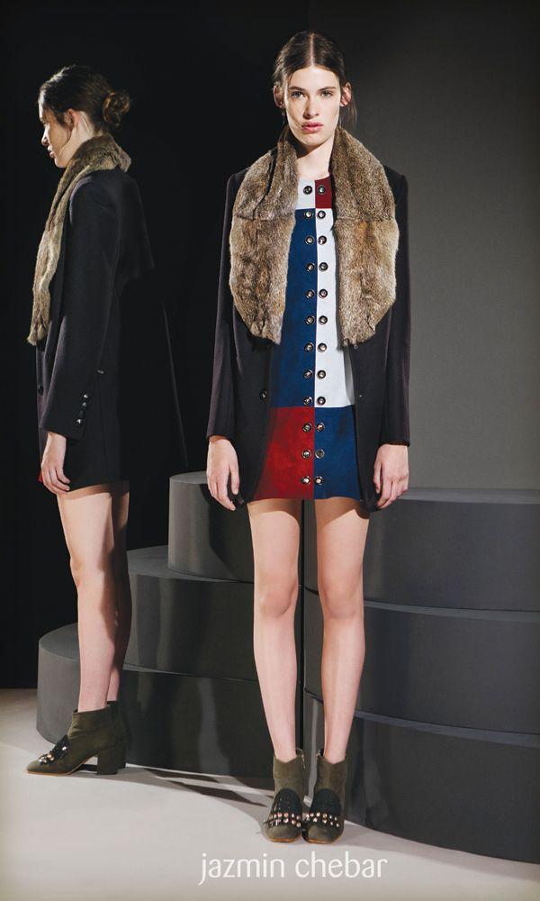 Calzado, Carteras, e Indumentaria femenina de Jazmín Chebar distinguidos con el Sello de Buen Diseño argentino 2015.