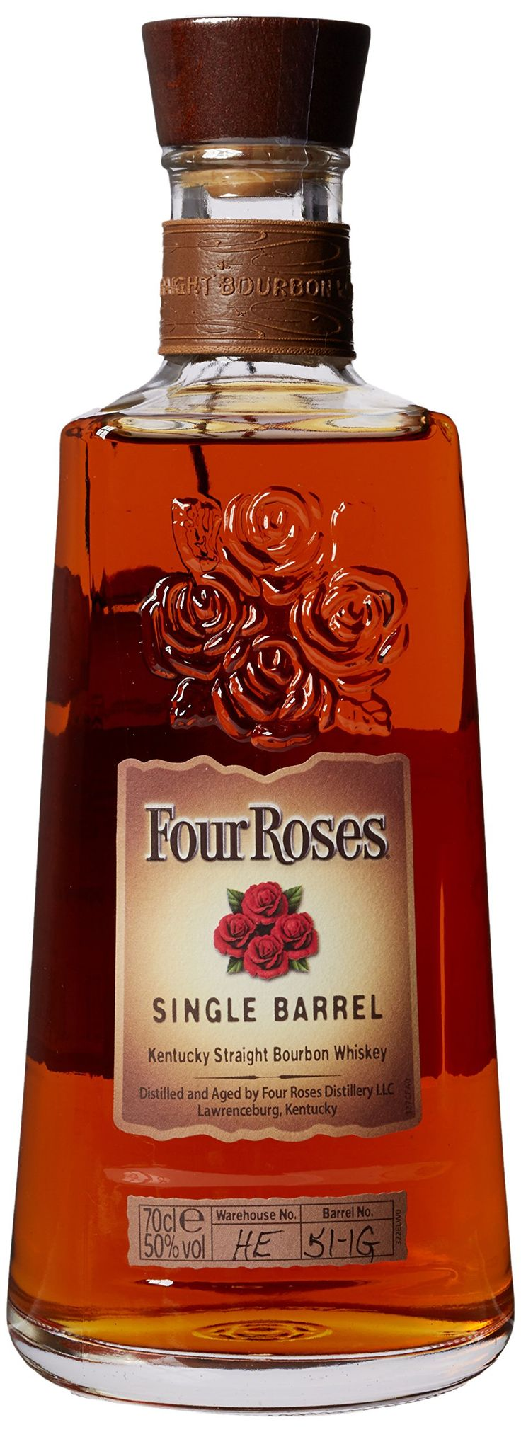 Four Roses Single Barrel Kentucky Straight Bourbon Whiskey 70 cl