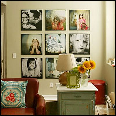Cowie's Craft & Cooking Corner: Large Photo Wall Display