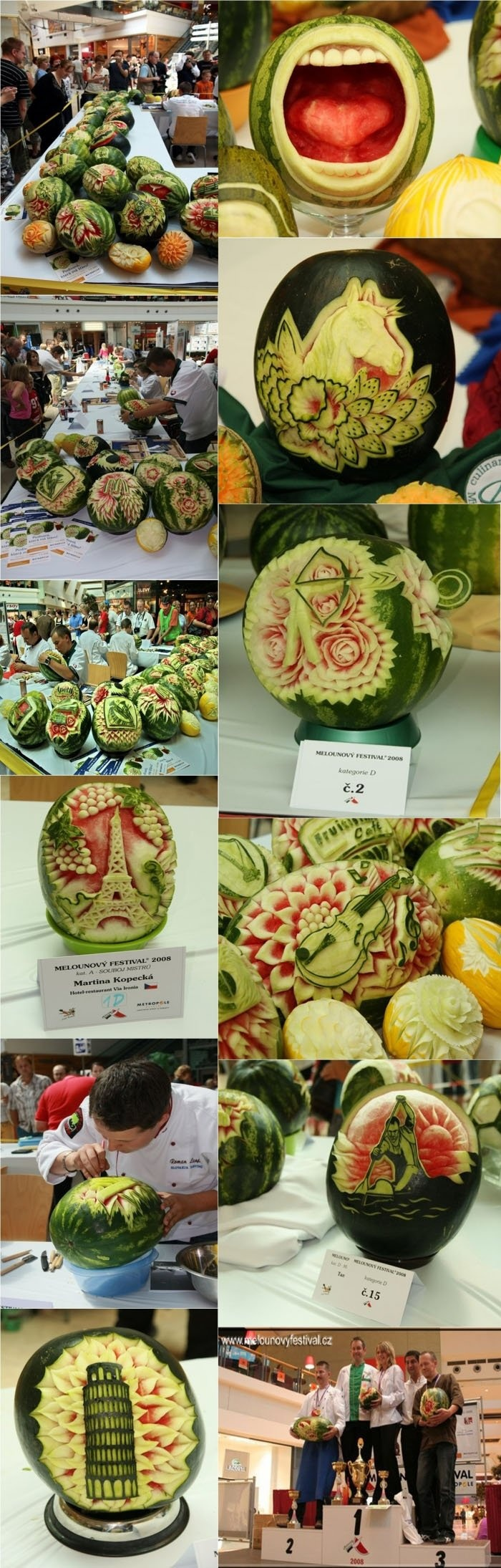 Is this food or art?... Don't you wish you had been this creative at your last dinner party?