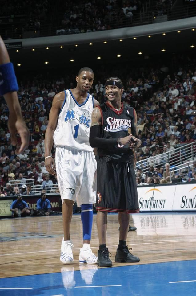 Tracy McGrady and Allen Iverson