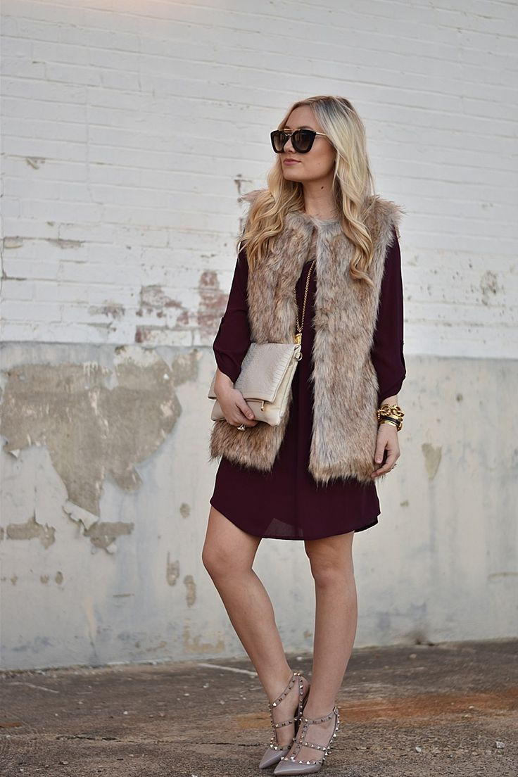 Faux Fur Vest | MURPHY'S LAW: