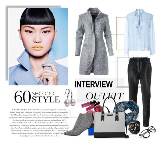 """""""60-Second Style: Job Interview By : Nahed Samir"""" by nahed-samer ❤ liked on Polyvore featuring Envi:, Giambattista Valli, Kim Kwang, Givenchy, Apple, Nine West, jobinterview and 60secondstyle"""