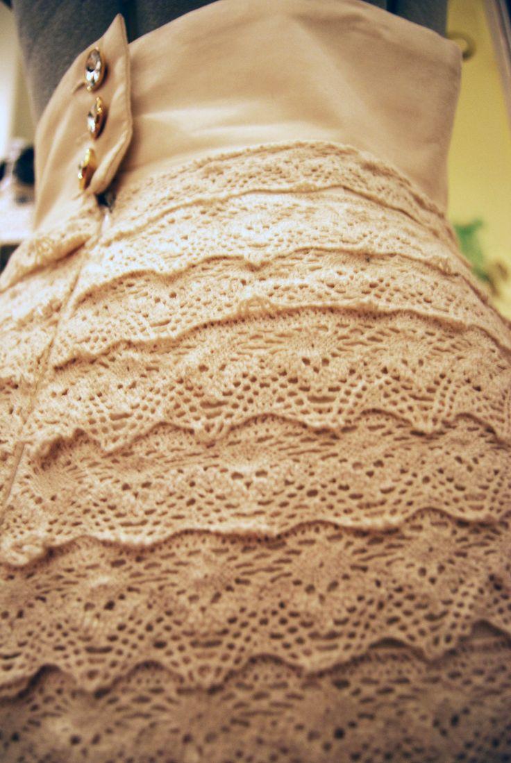 Första terminen jag gick på Stockholms Tillskärarakademi var slutuppgiften att sy en kjol. Jag hade sytt en hel del kjolar innan dess och kände mig till en början inte ett dugg inspirerad (Konstigt…