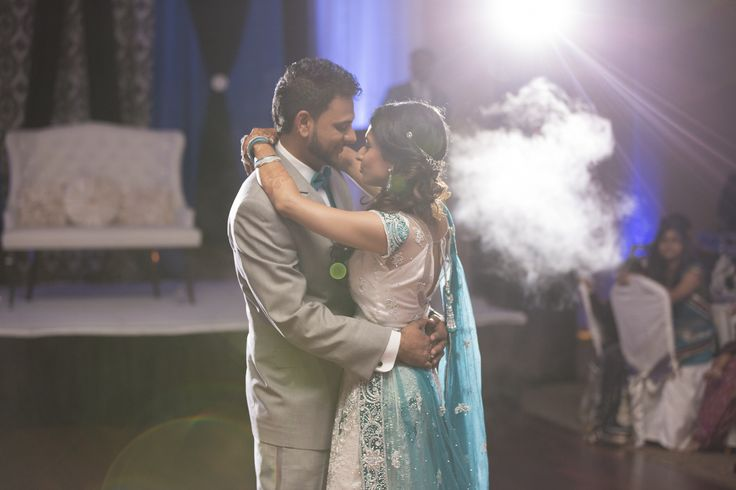 Markham Convention Centre Wedding | Roma and Jigar | First dance in Markham Convention Centre #torontoweddingphotographer #weddingphotography #weddingreception ~ http://www.focusproduction.ca/south-asian-wedding-photography-videography/roma-jigar/