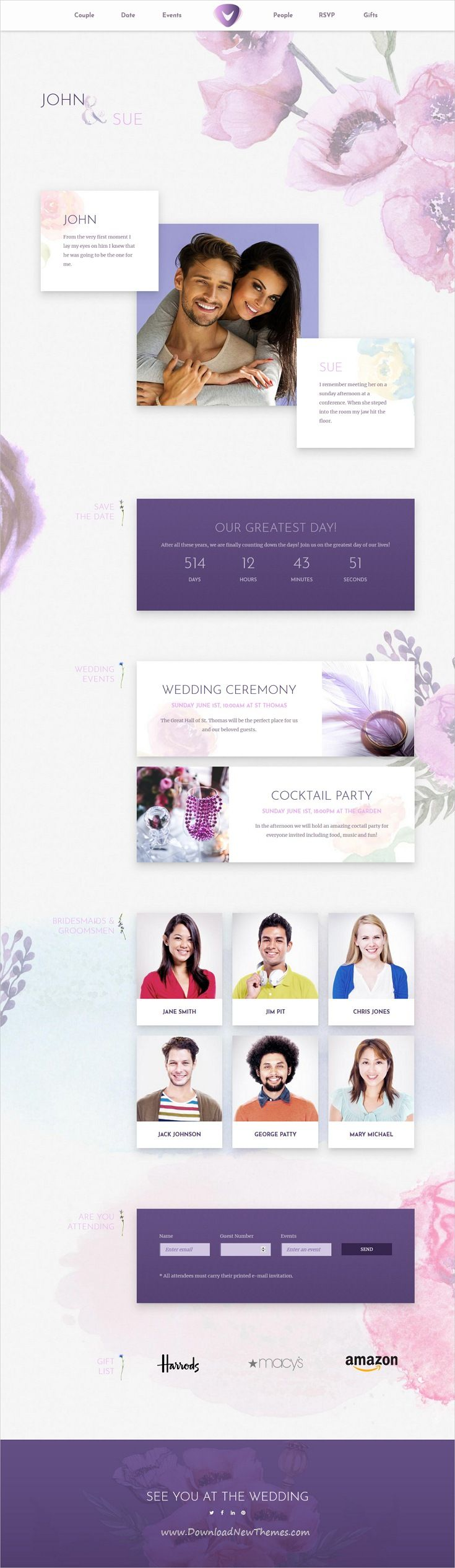 Verso is clean and modern design multipurpose responsive #WordPress theme for #wedding invitations website with 18+ niche homepage layouts download now..