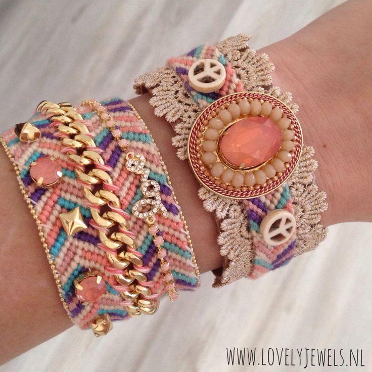 Musthave boho Ibiza bracelets online shoppen #lovelyjewelsnl
