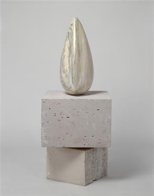 Constantin Brancusi, The Birdie II, 1928, Marble, National Museum of Modern Art - Georges Pompidou Center, Paris