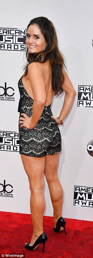 AMAs 2016 live: Danica Mckellar on the red carpet arrivals at American Music Awards | Daily Mail Online