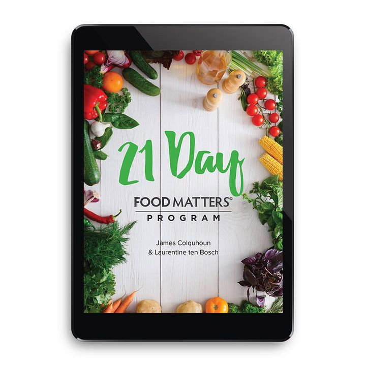 Transform your health and life in 2017 with this groundbreaking online mind & body program designed by the founders of Food Matters.
