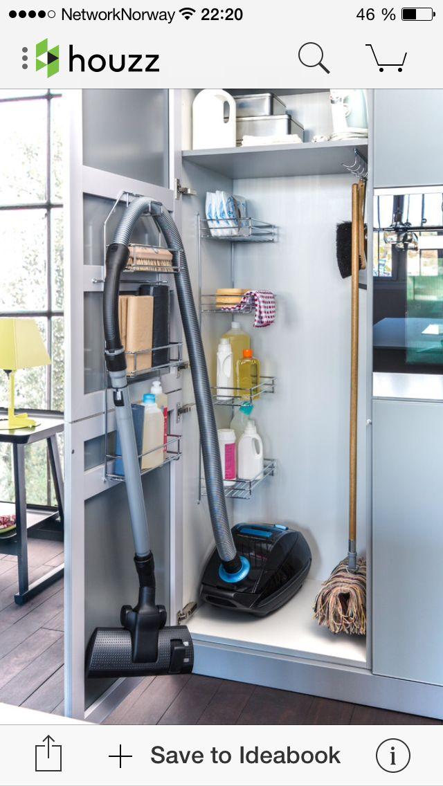 Smart oppbevaring kjøkken