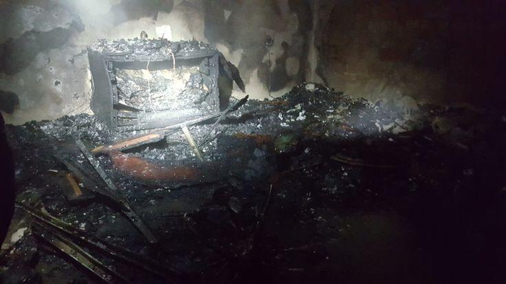 Tres heridos por un incendio, esta pasada madrugada, en una vivienda de Los Villares