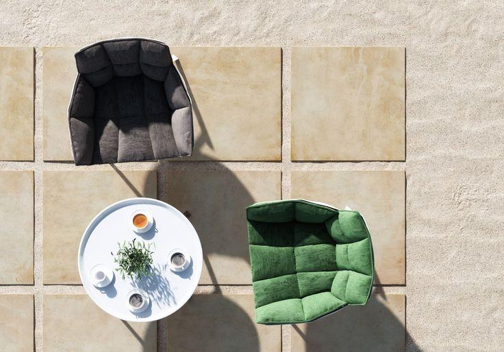 Płyty tarasowe, taras, ogród, ścieżka w ogrodzie. Płyty tarasowe na piasku - stwórz dowolną kompozycję! Płyty gresowe Solid 2.0 - Stone - Opoczno