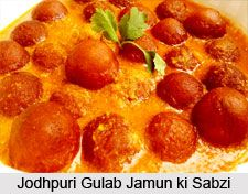 Gulab Jamun ki Sabzi is one of the Rajasthani dishes where the Gulab Jamuns are fried and instead of dipping them in sugar syrup they are dipped in tomato and cashew gravy. Learn the recipe here. #recipe #rajasthan #cuisine