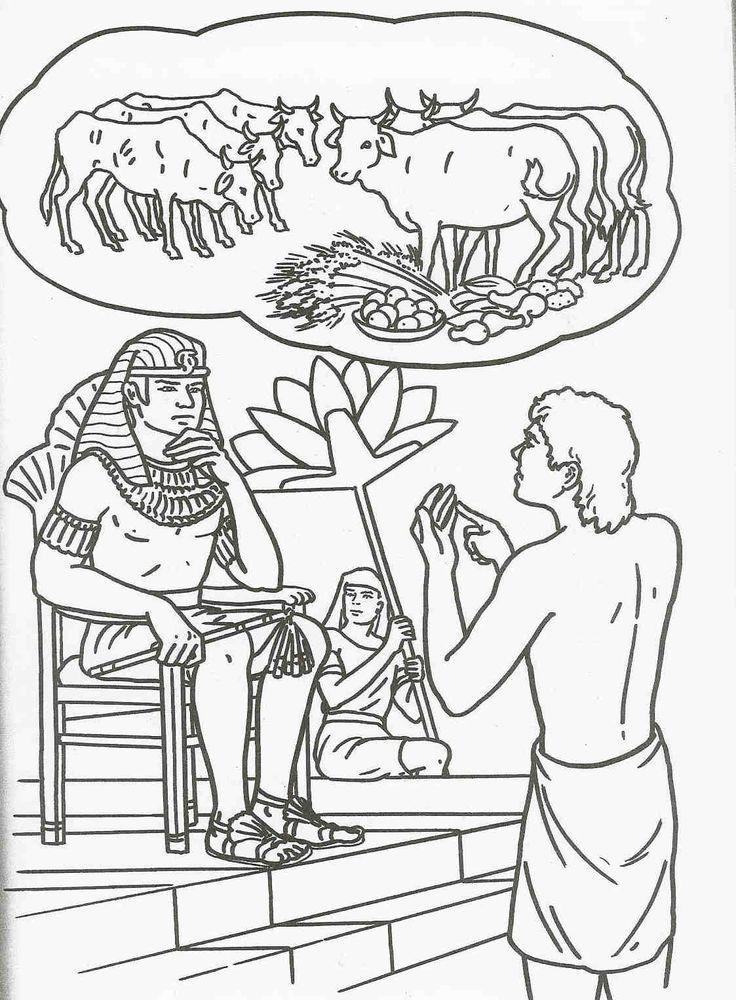 José revela sueños a Faraón