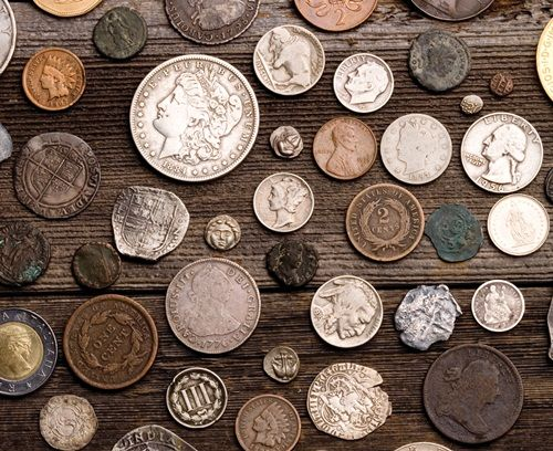 metal detector images | Discover Coins With Metal Detectors - Type Set Coin Collecting