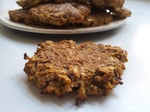 små æblekager uden mel og sukker