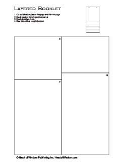 Fan booklet for lapbooks: lots of templates for lapbooking.