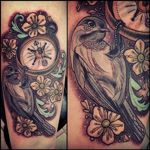 Chickadee and Compass