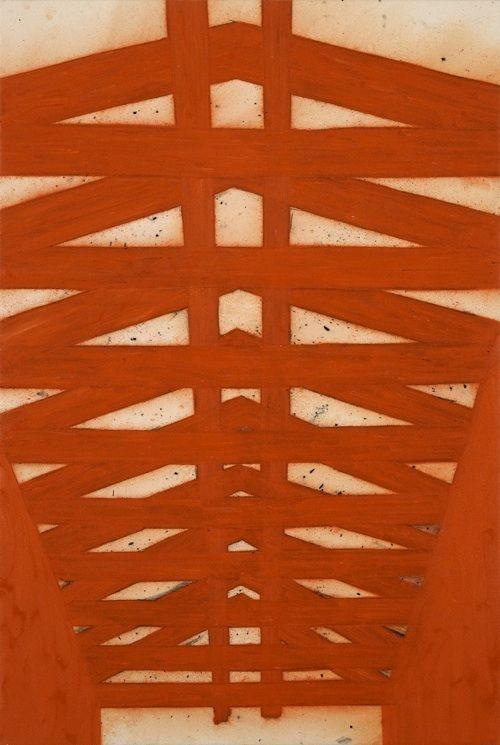 Tony Bevan - Vermilion Rafters -2003