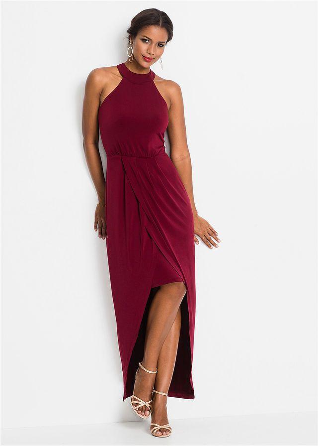 Maxi ruha • sötétpiros • bonprix áruház  3c4c7474cc