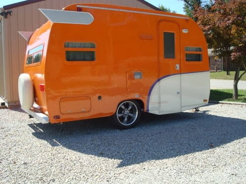 vintage trailers   VINTAGE, CLASSIC CANNED HAM TRAILER (REPRODUCTION/TRIBUTE) for Sale in ...