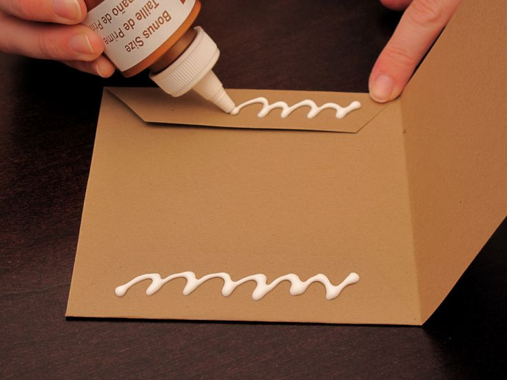 Tutorial to make kraft CD cover for wedding favors
