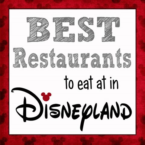 Over The Big Moon The Best Places to Eat in Disneyland