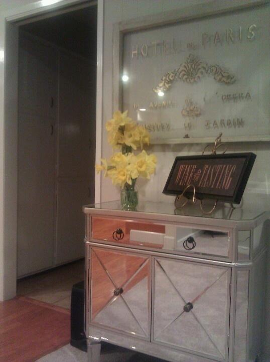 Decor Mirrored Furniture Hollywood Glam Master Bedroom Kris Jenner