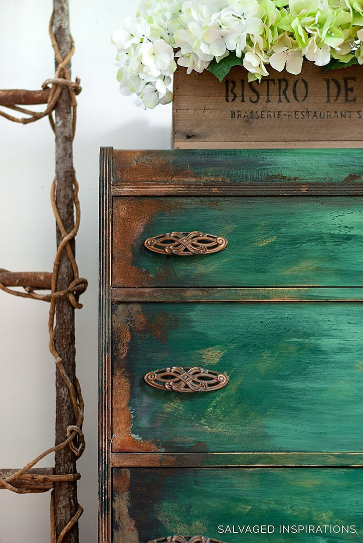 How To Paint Patina Paintina Furniture Rustic Furniture Decor Painted Furniture Furniture Painting Techniques