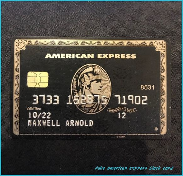 Is It Possible To Make A Working Swipeable Replica Of An Amex Fake American Express Black Card American Express Black Card American Express Black Black Card