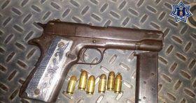 Detienen en el Istmo a presunto responsable de violación a la ley federal de uso de armas de fuego